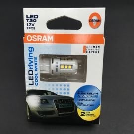 OSRAM T20 LED 6000K Multi-Purpose Car Light 2 Pcs/Pack