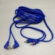8.5 FT 2.6M Dual 2-RCA Male Audio Cable
