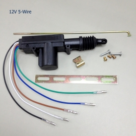 12V 5-WIRE CENTRAL DOOR LOCK ACTUATOR
