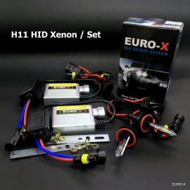 H11 HID Xenon Headlight Bulb + 12V Ballast and Play & Plug Wire Harness