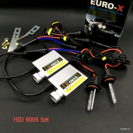 9006 HID Xenon Headlight Bulb + 12V Ballast and Play & Plug Wire Harness