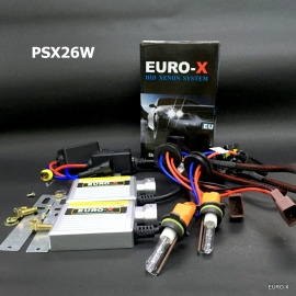 PSX26W HID Xenon Headlight Bulb + 12V Ballast and Play & Plug Wire Harness