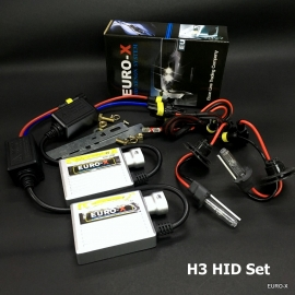 H3 HID Xenon Headlight Bulb + 12V Ballast and Play & Plug Wire Harness