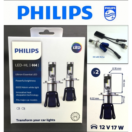PHILIPS X-tremen Ultinon D2R 6000K HID Headlight 2 Pcs/Pack