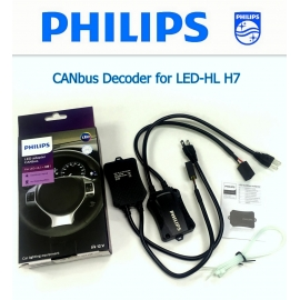 PHILIPS LED CANbus Adapter for H7 12V Decoder Error Canceller