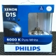PHILIPS X-tremen Ultinon D1S 6000K HID Headlight 2 Pcs/Pack