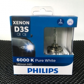 PHILIPS D3S Ultinon HID 6000K Headlight Bulb 2 Pcs/Pack