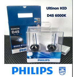 PHILIPS Ultinon D4S 6000K HID Headlight Bulb 2 Pcs/Pack