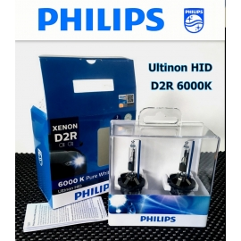 PHILIPS Ultinon D2R 6000K HID Headlight Bulb  2 Pcs/Pack