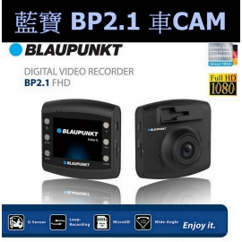 BLAUPUNKT BP2.0 FHD 1080P Dash Cam Car Vehicle DVR + 16G Card