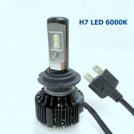 H7 LED 6000K T6 12V/24V CANBus Decode White Light Bulb