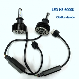 9005 HB3 LED 6000K 12V/24V CANBus Decode Car Light Bulb
