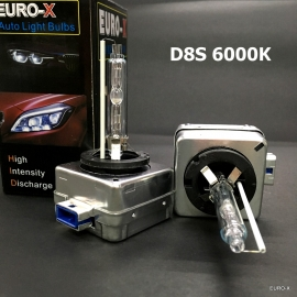 D8S HID 6000K Xenon 12V Light Bulb for Tesla Ford Audi Hyundai