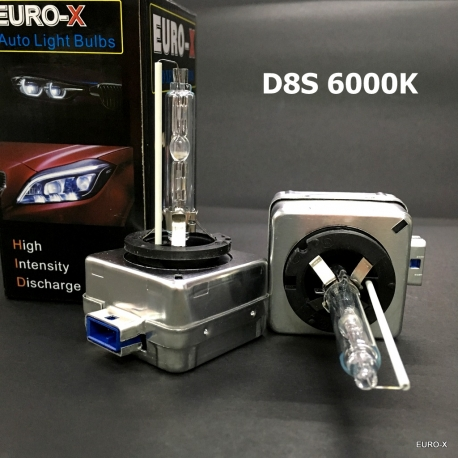 D8S HID 8000K Xenon Headlight Bulb for Replacement