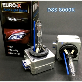 D8S HID 8000K Xenon Light Bulb 12V 25W suit for Tesla Model S/X