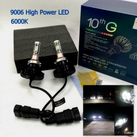 9006 / HB4 LED 6000K High Power 6000LM Headlight Bulb X 2