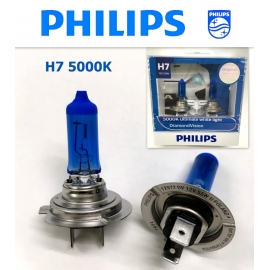 PHILIPS H7 5000K DiamondVision 12V Halogen Bulb X2