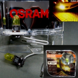 H3 OSRAM 12V 55W Fog Breaker 2600K Yellow Light Bulb x 2pcs