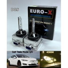 D8S HID 4300K Xenon 12V Light Bulb suit for Tesla Model S/X