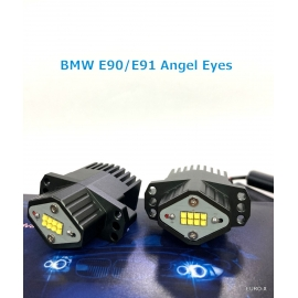 BMW Angel Eyes 80W White LED Bulb X 2 for BMW E90 E91