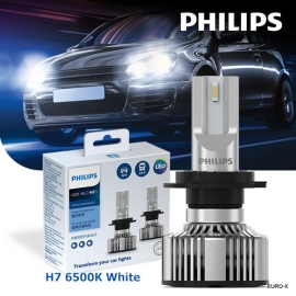 PHILIPS H7 LED-HL UE G2 6500K Fit 12V/24V Car Light Bulb X 2