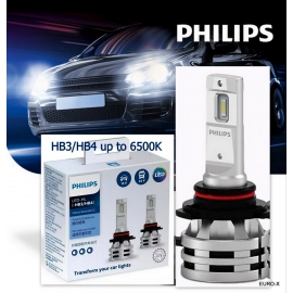 PHILIPS HB3/HB4 LED-HL UE G2 6500K Fit 12V/24V Car Light Bulb X 2