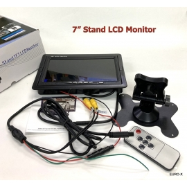 7-Inch Stand TFT-LCD Rear View Monitor for Parking