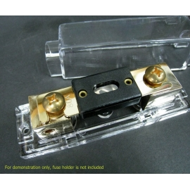 FH-ANL NEW Car Stereo Audio ANL Fuse Holder 2- 4 Gauge Wire +100A ANL Fuse