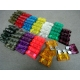 New ATC/ATO 1-40A Blade Fuse Assort 12 Different Sizes Total 60 Pcs