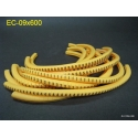 EC-1 Yellow Cable Wire Markers Letter 0 to 9,+,- x55 600pcs/lot