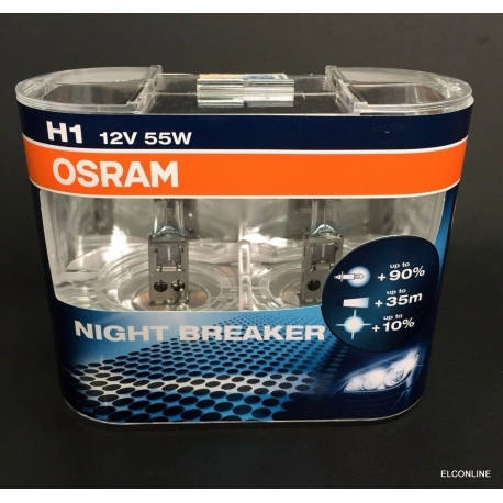 H1 OSRAM NIGHT BREAKER 12V 55W Light Bulb