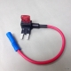 FH144 Car Add A Circuit ATM Mini Blade Type Fuse Tap Holder Extra Slot x 2 Pcs