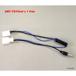 Stereo Antenna Adapter Kit M F Connector for TOYOTA Cars