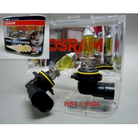 9006 HB4 OSRAM 12V 51W Fog Breaker 2600K Yellow Globes Light Bulb x 2 pcs