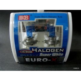 12V SUPER WHITE Halogen 100W Light Bulb H1 H3