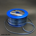 AWG: 18GA 2x 0.75mm2 Silver/Blue Car Audio Speaker Cable 100M/Roll