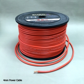 4mm2 Red Car Audio Power Cable 100M/Roll