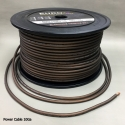 AWG: 10GA Black AUDIO POWER / GROUND CABLE 100m / roll