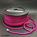 6 GA AUDIO POWER CABLE Frosted Purple  50M/Roll