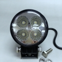 12V/24V Car Exterior LED 4s 12W Spot Light