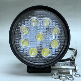 12V/24V Exterior LED 9s 27W Spot Light
