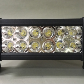 12V/24V Exterior LED 12s 36W Rectangle Spot Light